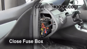 Interior Fuse Box Location: 20092016 Volkswagen CC  2009