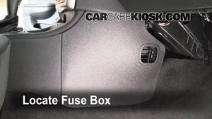 Interior Fuse Box Location: 20052010 Chevrolet Cobalt  2010 Chevrolet Cobalt LT 22L 4 Cyl