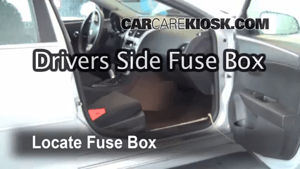 2009 nissan versa radio wiring diagram reflection ray ks3 interior fuse box location: 2008-2012 chevrolet malibu - 2010 lt 2.4l 4 cyl.