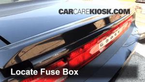 Interior Fuse Box Location: 20082010 Dodge Challenger