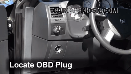 Fuse Box Location Engine Light Is On 2006 2010 Dodge Charger What To Do