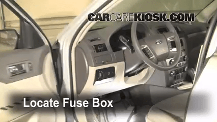 2013 Ford F250 Super Duty Headlight Wiring Diagram Interior Fuse Box Location 2010 2012 Ford Fusion 2010