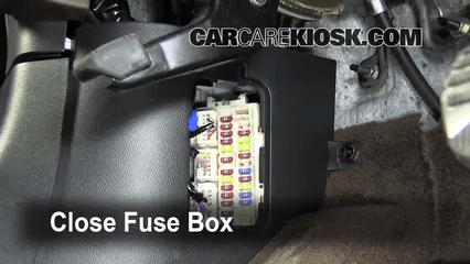 2003 Honda Accord Fuse Box Diagram Interior Fuse Box Location 2009 2013 Infiniti Fx50 2009
