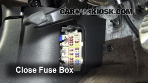 Interior Fuse Box Location: 20092013 Infiniti FX50  2009 Infiniti FX50 50L V8