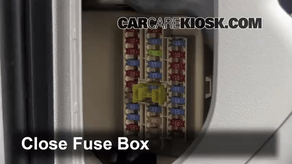 2013 Kia Optima Fuse Box Location Interior Fuse Box Location 2010 2013 Kia Forte 2010 Kia