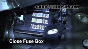 Interior Fuse Box Location: 20062010 Lincoln MKZ  2010