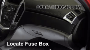 Interior Fuse Box Location: 20102016 Cadillac SRX  2011