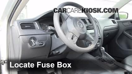 2007 Vw Eos Fuse Diagram Interior Fuse Box Location 2011 2014 Volkswagen Jetta