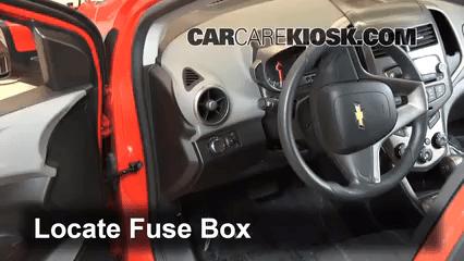 2011 Camaro Fuse Box Cover 2012 2016 Chevrolet Sonic Interior Fuse Check 2012