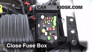 Interior Fuse Box Location: 20112014 Chrysler 200  2012