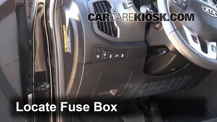 2008 Kia Sorento Fuel Filter Interior Fuse Box Location 2011 2014 Kia Sportage 2012