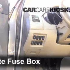 2004 Nissan Xterra Radio Wiring Diagram Briggs And Stratton Parts Interior Fuse Box Location: 2009-2014 Murano - 2009 S 3.5l V6