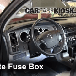 Wiring Diagram Relay 5 Pin Robertshaw Thermostat Interior Fuse Box Location: 2008-2013 Toyota Sequoia - 2012 Sr5 4.6l V8