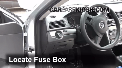 2013 Jetta Sportwagen Fuse Diagram Interior Fuse Box Location 2012 2016 Volkswagen Passat