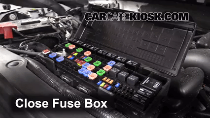 2010 Ford F150 Fuse Box Diagram Under Hood Replace A Fuse 2009 2014 Ford F 150 2013 Ford F 150 Xlt