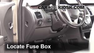 Interior Fuse Box Location: 20092016 Ford Flex  2013