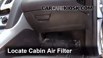 Cabin Filter Replacement Ford Focus 2012 2014 2012 Ford