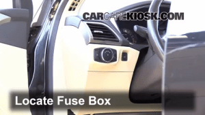 Interior Fuse Box Location: 20132016 Ford Fusion  2013 Ford Fusion SE 20L 4 Cyl Turbo