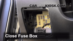 Interior Fuse Box Location: 20132016 Hyundai Santa Fe