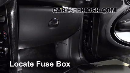 I Fuse Box Diagram Interior Fuse Box Location 2011 2016 Mini Cooper