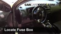 Interior Fuse Box Location: 2011-2016 Mitsubishi Outlander ...