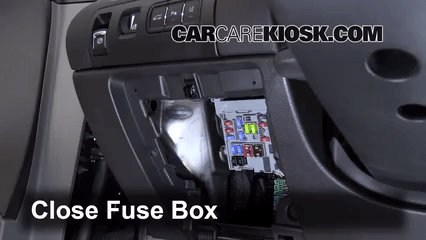 2014 Acadia Fuse Diagram Interior Fuse Box Location 2014 2016 Chevrolet Impala