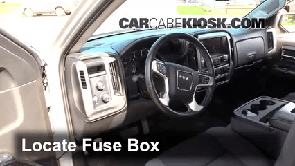 2003 Jeep Grand Cherokee Limited Fuse Box Diagram Interior Fuse Box Location 2014 2016 Gmc Sierra 1500