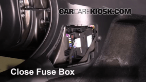 Interior Fuse Box Location: 20142016 Mazda 3  2014 Mazda