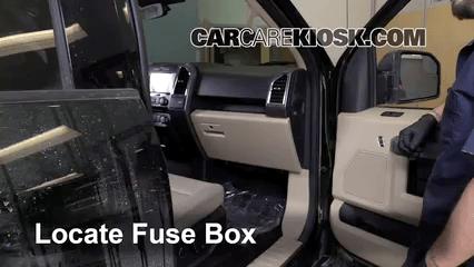 Under Dash Fuse Box Diagram 1997 Ford F 150 Interior Fuse Box Location 2015 2016 Ford F 150 2015