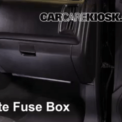 Isuzu Truck Radio Wiring Diagram 3 Wire Room Thermostat Interior Fuse Box Location: 2004-2012 Chevrolet Colorado - 2004 2.8l 4 Cyl ...