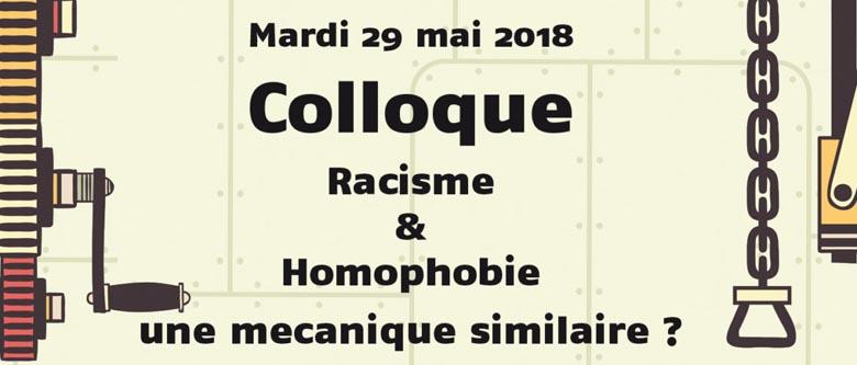 Colloque «Racisme & Homophobie :une mécanique similaire ?»