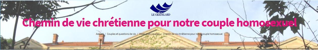 W-E couple: Chemin de vie chrétienne pour notre couple homosexuel