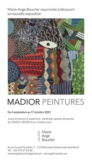You are currently viewing Exposition «MADIOR PEINTURES»