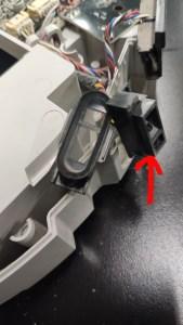 xiaomi robot vacuum cliff sensor