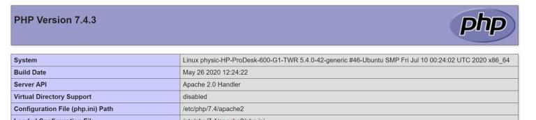 用Ubuntu 20.04自架wordpress5.5