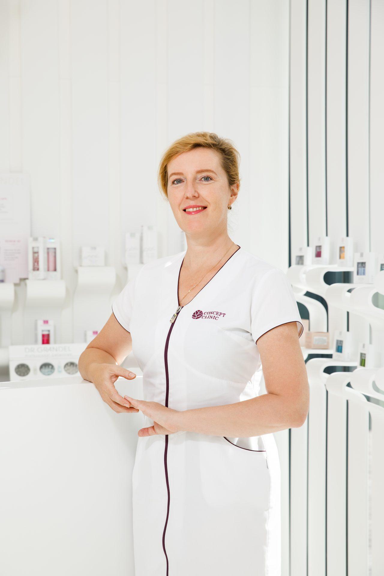 MUDr. Zuzana Zelenayová dermatolog Concept Clinic