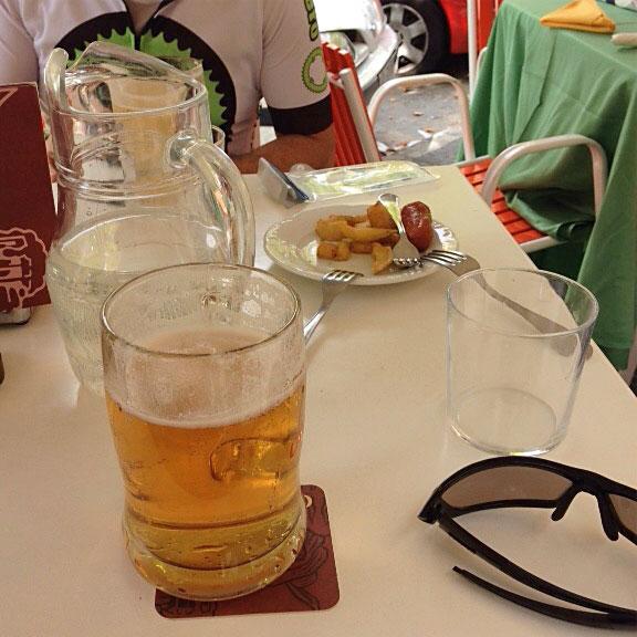 Cerveza para culminar