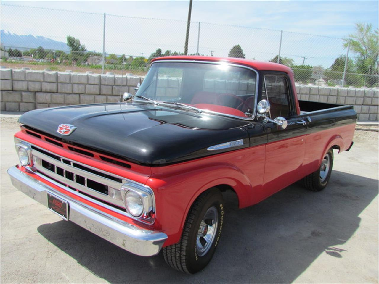 hight resolution of large picture of classic 1961 ford f100 located in utah m7j2