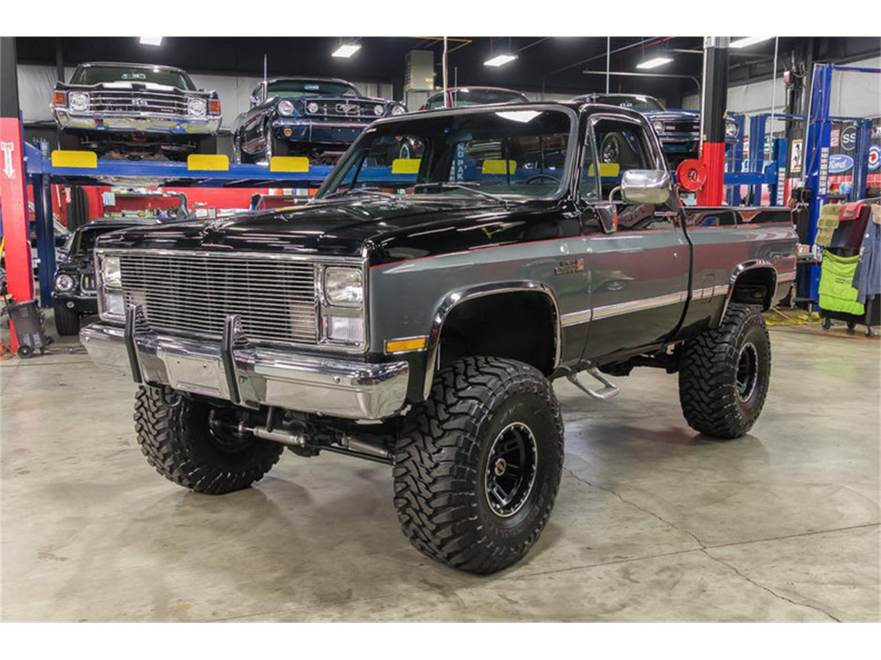 hight resolution of large picture of 87 sierra 4x4 pickup ma65