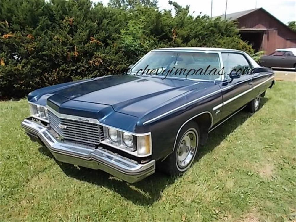 medium resolution of large picture of 74 impala ms73