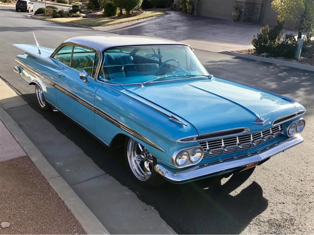 medium resolution of large picture of classic 1959 impala 55 000 00 offered by a private seller msfz