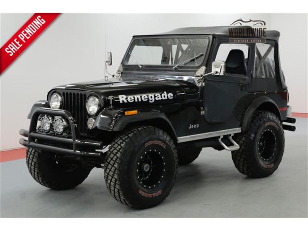 medium resolution of large picture of 77 cj5 nagf