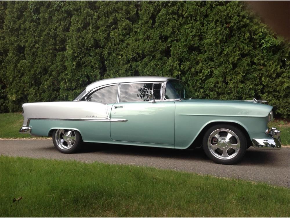 medium resolution of large picture of 55 bel air nctw
