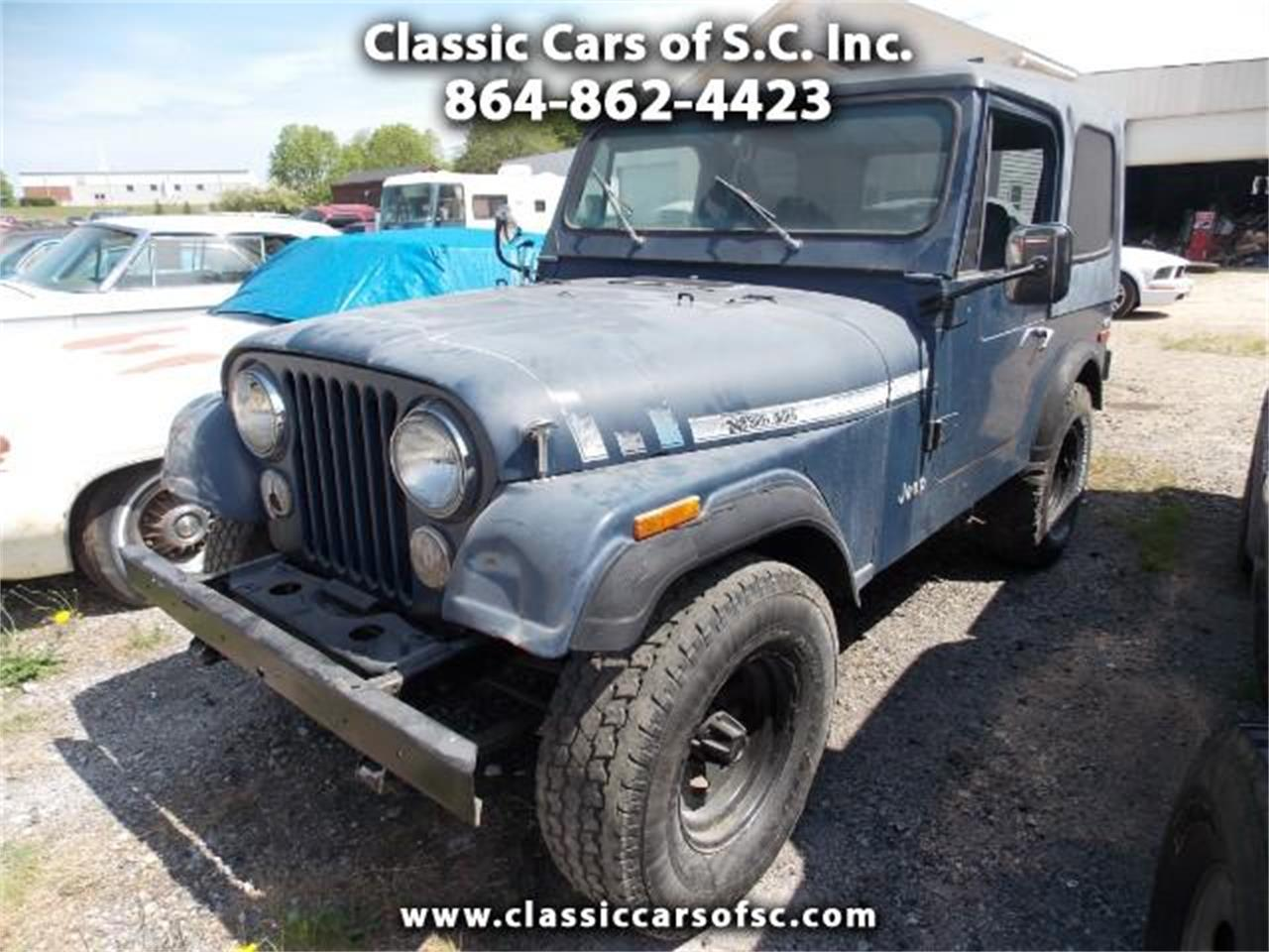 hight resolution of large picture of 80 cj7 nffc