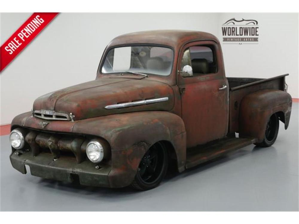 medium resolution of large picture of classic 53 ford pickup located in denver colorado offered by worldwide vintage