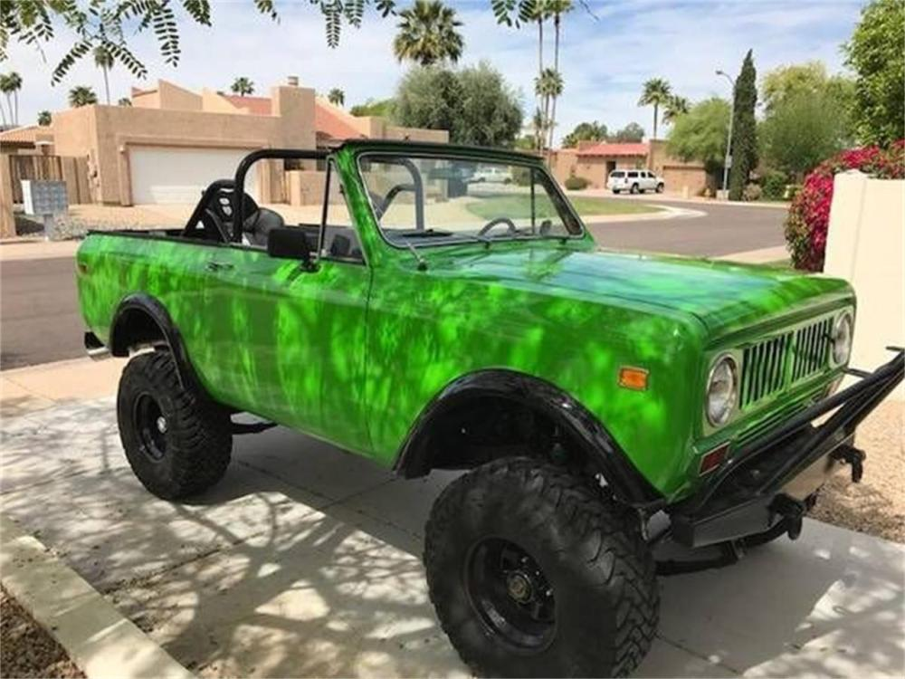 medium resolution of rewiring scout ii wiring diagram used 1974 international harvester scout ii for sale classiccars com rewiring