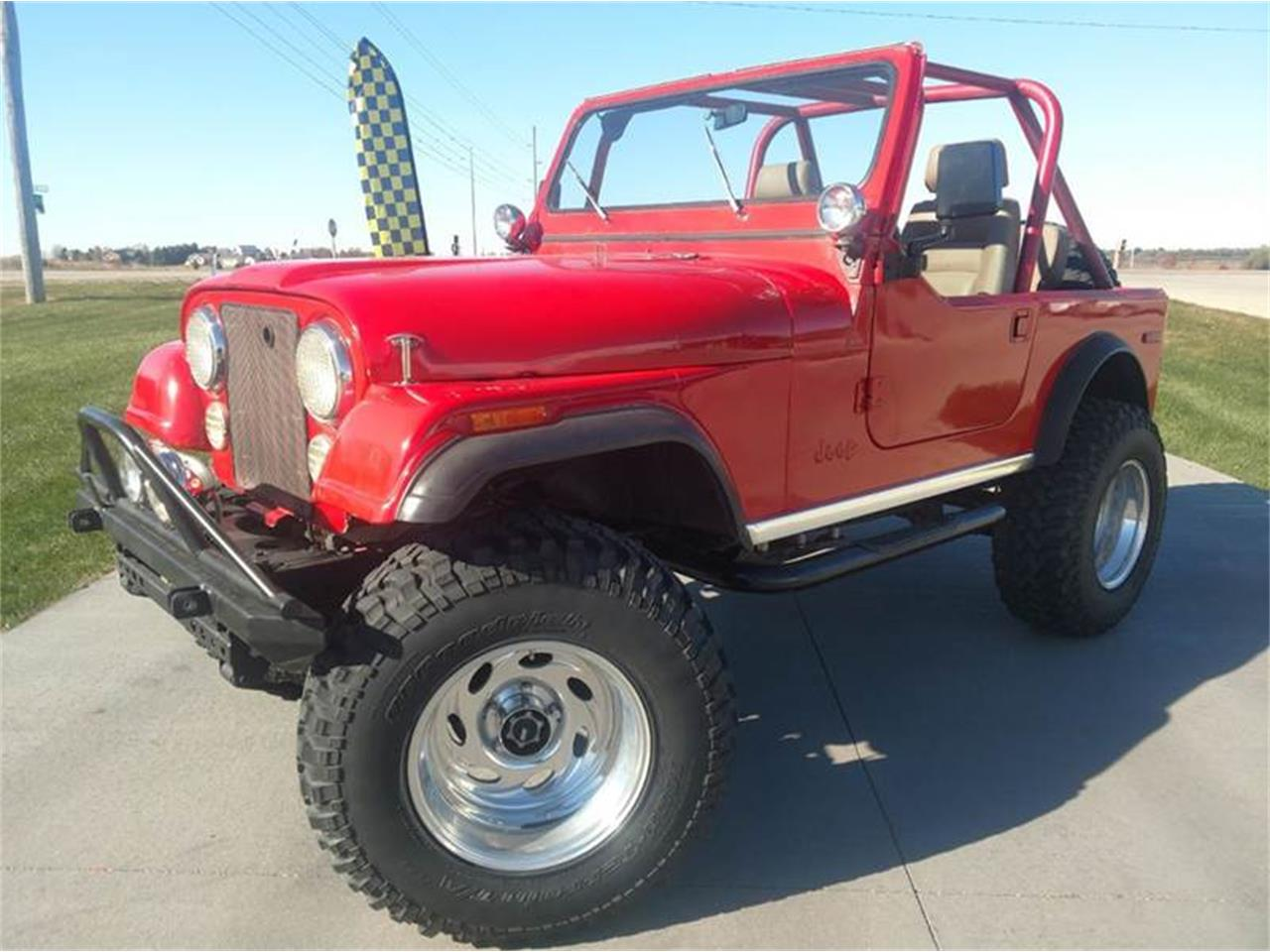 hight resolution of large picture of 80 cj7 orwe
