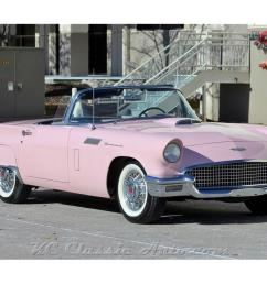 1957 ford thunderbird for sale classiccars com cc 1171573 1956 thunderbird also 1957 ford thunderbird further studebaker wiring [ 1280 x 960 Pixel ]
