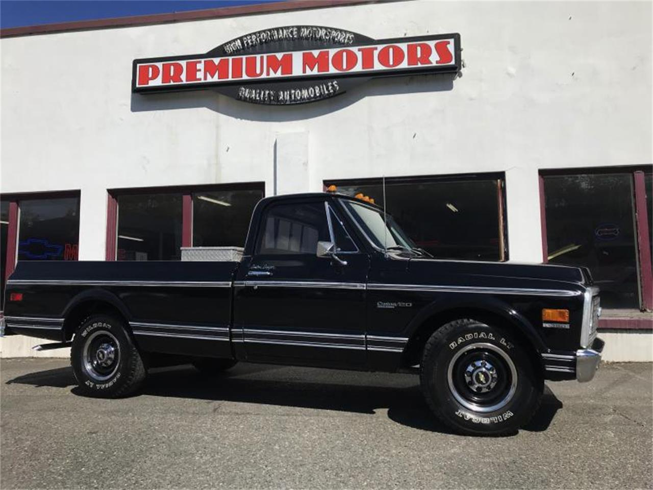 hight resolution of large picture of classic 1972 chevrolet c20 located in washington offered by premium motors pw3h