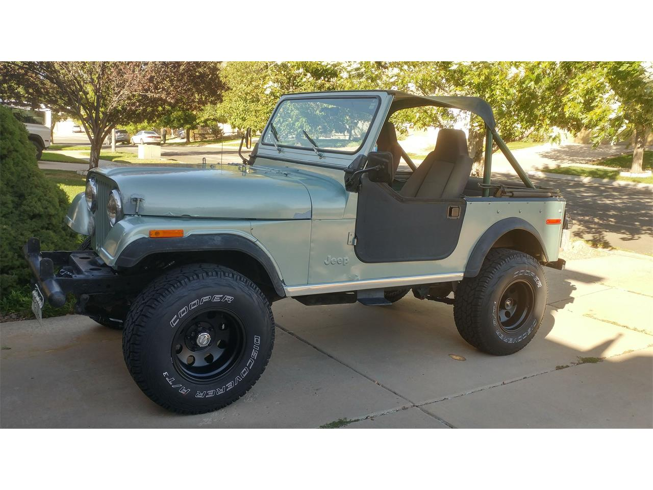 hight resolution of large picture of 79 cj7 pxxi